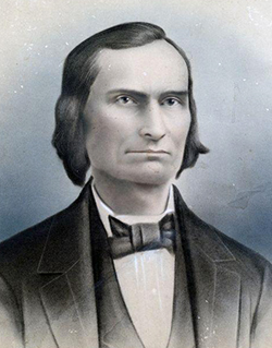 Benjamin Aycock, father of Charles Brantley Aycock, circa 1870. Image from the North Carolina Historic Sites.