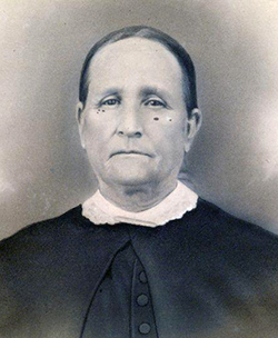 Serena Hooks Aycock, mother of Charles Brantley Aycock, circa 1860. Image from the North Carolina Historic Sites.