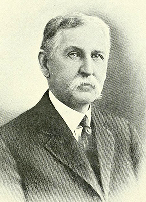 A photograph of John Dillard Bellamy published in 1919. Image from the Internet Archive.