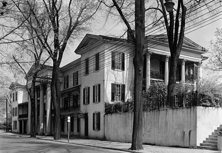 Belo House, 455 South Main Street, Winston-Salem, Forsyth County, NC. Courtesy of Library of Congress.