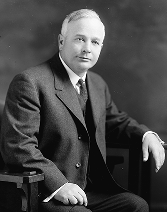 Photograph of Thomas Walter Bickett, circa 1905-1921. Image from the Library of Congress.