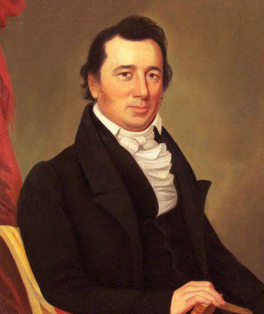 A portrait of William Augustus Blount by Jacob Marling. Image from the North Carolina Museum of History.
