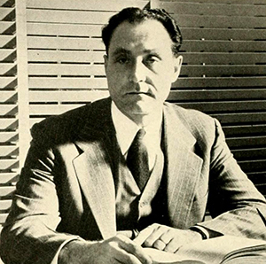 A photograph of Harold Augustus Bosley published in the 1948 Duke University yearbook. Image from the Internet Archive.