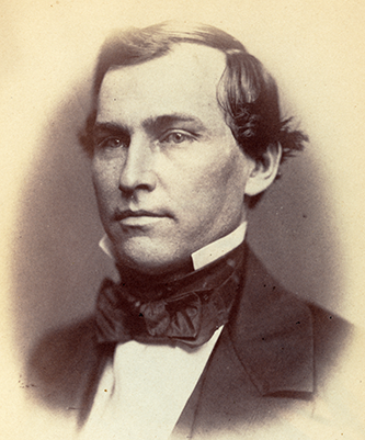 Photograph of Lawrence O'Bryan Branch, 1859. Image from the Library of Congress.