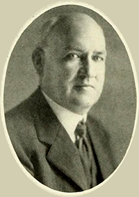 Photograph of James Craig Braswell circa 1923. Image from Archive.org.