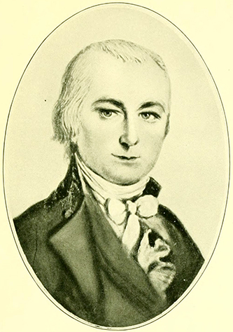 Joseph Brevard (1766-1821). Image from Archive.org.