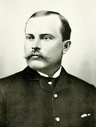 A photograph of John Luther Bridgers, Jr. published in 1919. Image from the Internet Archive.