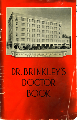 Dr. Brinkley's Doctor Book. Image courtesy of the North Carolina Collection, VCpB B858b.