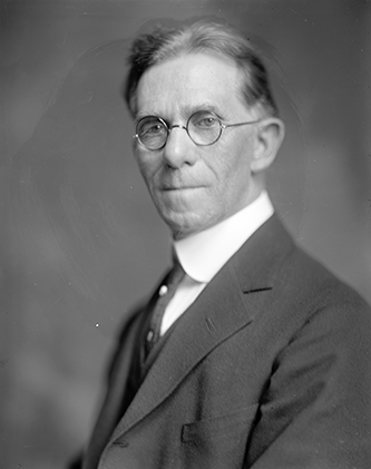 An undated photograph of James Jefferson Britt. Image from the Library of Congress.