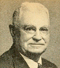 A photograph of Dr. George W. Brown published in 1945. Image from the Internet Archive.