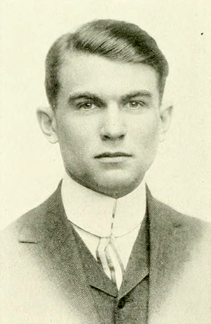 A photograph of Joseph Shepard Bryan from the 1915 University of North Carolina yearbook. Image from the Internet Archive.