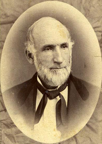 A 1900 photograph of William Preston Bynum. Image from the North Carolina Museum of History.