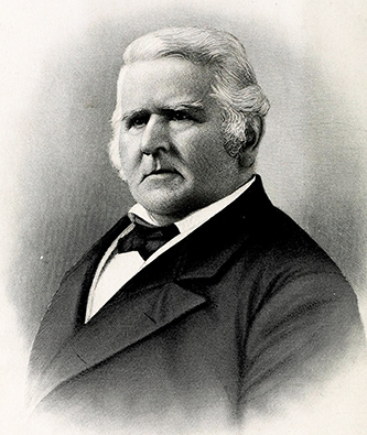 An 1886 engraving of Paul Carrington Cameron. Image from Archive.org.