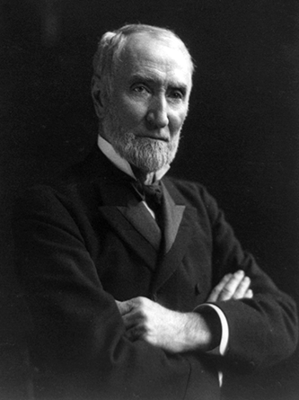 A 1903 photograph of Joseph Gurney Cannon. Image from the Library of Congress.