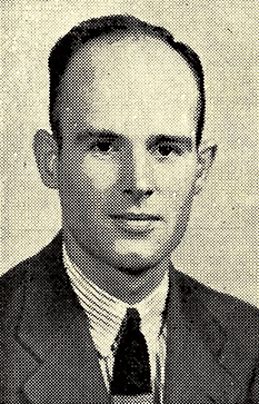 Charles A. Cannon, Jr., the son of Ruth Louise Coltrane Cannon, killed in Burma during World War II. Image from Archive.org.