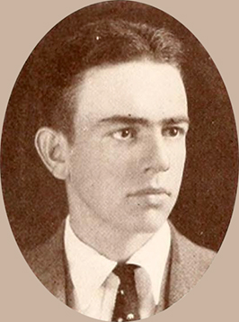 A photograph of John Bethune Carlyle, Jr. from the 1922 Wake Forest College Yearbook. Image from the University of North Carolina at Chapel Hill.