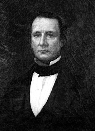 A photograph of a portrait of Josiah Collins, III. Image from the State Archives of North Carolina.