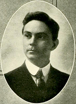 A photograph of Robert Digges Wimberly Connor published in 1921. Image from Digital NC, University of North Carolina at Chapel Hill.
