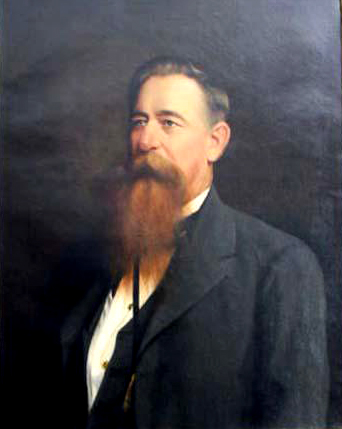 A portrait of Charles Alston Cook attributed to Jacques Busbee. Image from the North Carolina Museum of History.