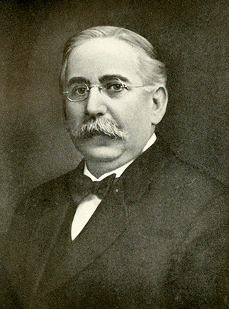 A photograph of James P. Cook published in 1919. Image from the Internet Archive.