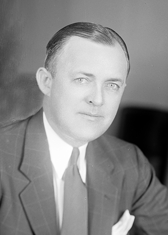 A photograph of Harold Dunbar Cooley, circa 1905-1945. Image from the Library of Congress.