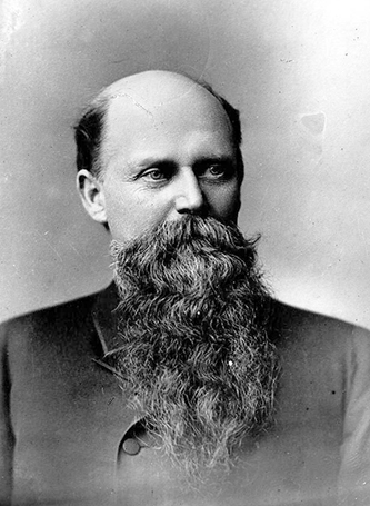 A photograph of William Henry Harrison Cowles taken sometime after the Civil War. Image from the North Carolina Museum of History.