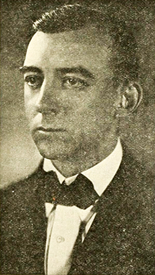 A photograph of Albert Lyman Cox published in 1921. Image from the Internet Archive.