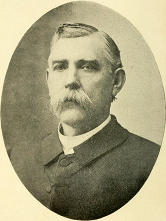 A photograph of Reverend David Irvin Craig, circa 1907. Image from Archive.org.