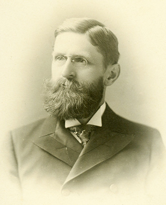 A photograph of John Franklin Crowell circa 1897. Image from the Duke University Archives on Flickr.