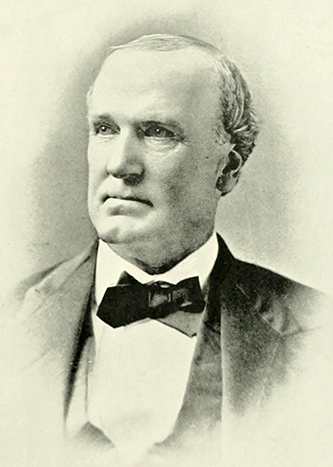 A photograph of John W. Cunningham published in 1892. Image from Archive.org.
