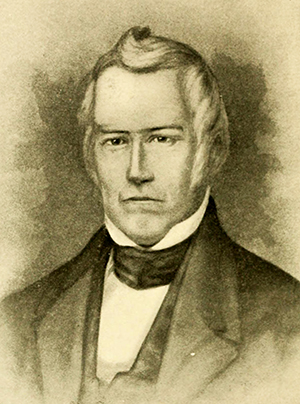 A portrait of William Davidson. Image from the Internet Archive.