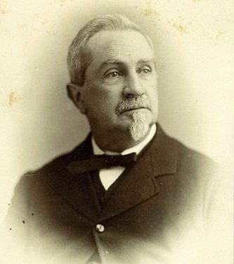 Photograph of George Davis. Image from the North Carolina Museum of History.