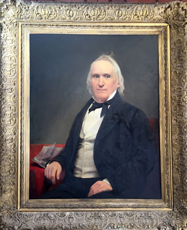 Portrait of Thomas Pollock Devereux, circa 1865-1869.  Private collection, used by permission.