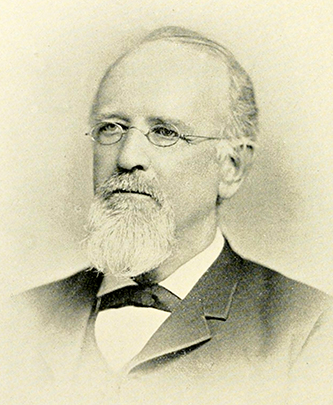 Photograph of Judge Robert Paine Dick, circa 1889. Image from Archive.org.