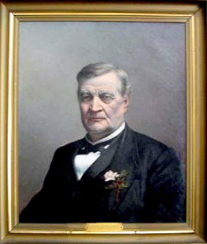 An 1897 portrait of John Henry Dillard by William G. Randall. Image from the North Carolina Museum of History.