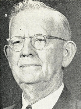 A photograph of Arminius Gray Dixon published in 1962. Image from the Internet Archive.