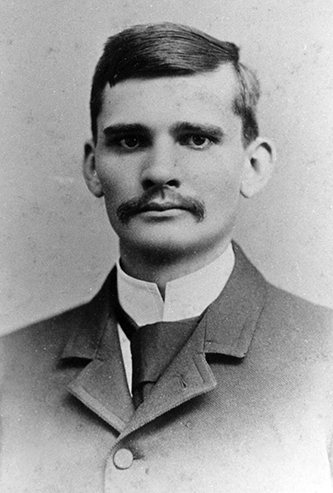 A photograph of Dauphin Disco Dougherty, circa 1890. Image from the Appalachian State University Digital Collections.