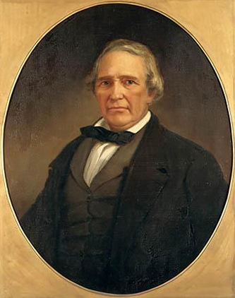 Portrait of Edward Bishop Dudley by William Garl Browne. Image from the North Carolina Museum of History.