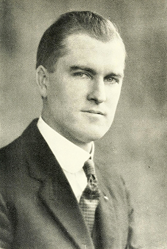 A photograph of Ward Blowers Edwards published in 1935. Image from the Internet Archive.