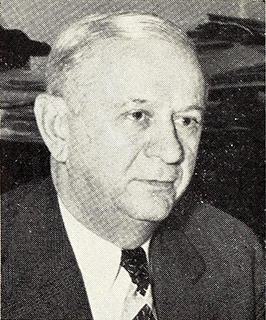 A photograph of Joseph Bivens Efird published in 1949. Image from the North Carolina Digital Collections.