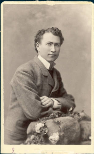 Elias M. Ammons, 1880, High School Portrait, Denver Library.