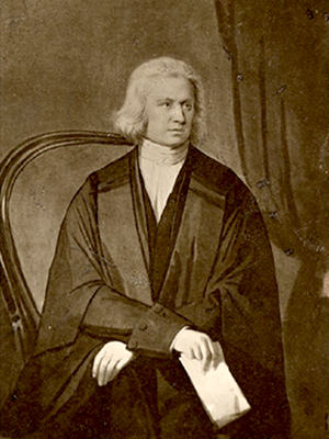 John Elmsley, chief justice of Canada (1762-1805). Image from the Bibliothèque et Archives nationales du Québec.