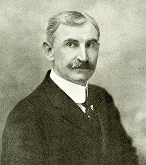 An photograph of Jesse Harper Erwin published in 1919. Image from the Internet Archive / N.C. Goverment & Heritage Library.
