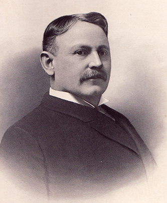 An engraving of William Allen Erwin published in 1905. Image courtesy of the N.C. Government & Heritage Library.