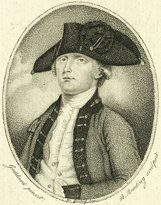 A print of Edmund Fanning by B. Reading. Image from the New York Public Library Digital Gallery.