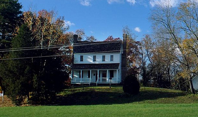 The Edwards-Franklin House in Surry County, former home of Meshack Franklin and Gideon Edwards, whose daughter Meshack married. Image from Flickr user Mark Welker.