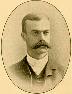 A photograph of Thomas Blount Fuller published in 1895. Image from the Internet Archive.