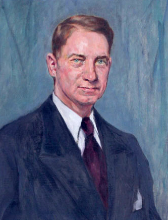 "Westfield, Max. ""Sidney Clarence Garrison 1887 - 1945."" Painting. 1946. Tennessee Portrait Project. National Society of Colonial Dames of America in Tennessee."
