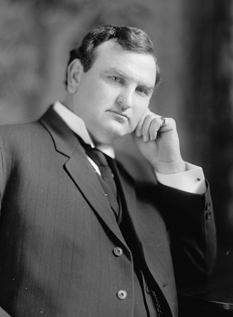 A photograph of Hannibal Lafayette Godwin, circa 1905 by Harris & Ewing. Image from the Library of Congress.