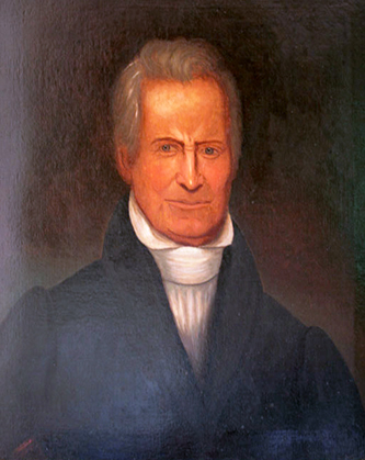 A portrait of General Joseph Graham, attributed to Wiseman. Image from the Tennessee Portrait Project of the National Society of Colonial Dames of America in Tennessee.